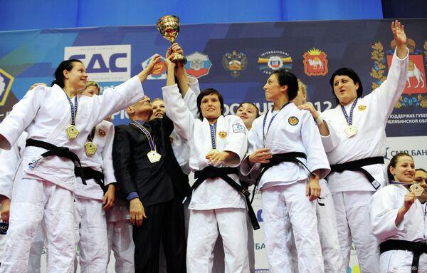 Спортсменки женской сборной России