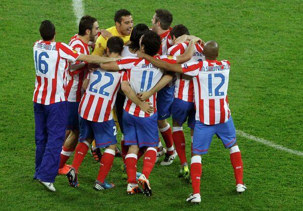 Футболисты Атлетико