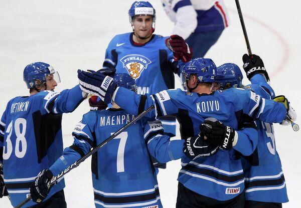 Хоккеисты Финляндии