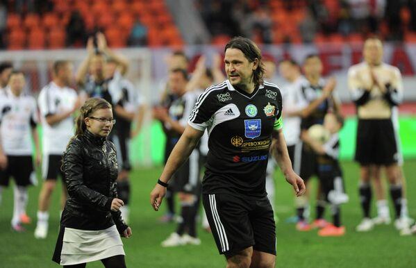 Вадим Евсеев с дочерью Полиной