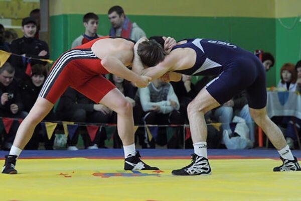 Чемпионат Московской области по греко-римской борьбе