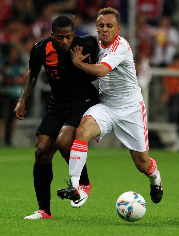 Игровой момент матча Бавария - Нидерланды