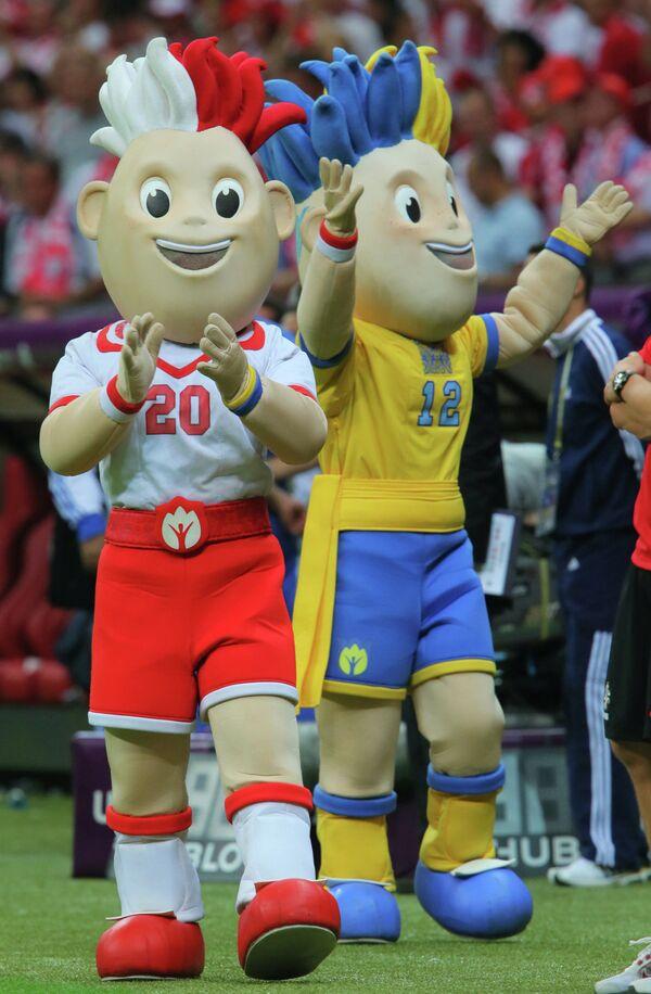 Талисманы ЕВРО - 2012