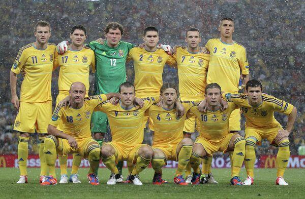 Игроки сборной Украины