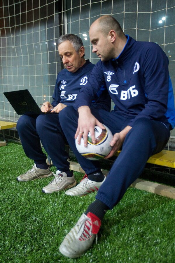 Роберто Сасси (слева) и Дмитрий Хохлов
