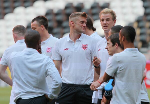 Футболисты сборной Англии