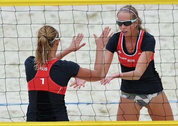 Пляжный волейбол. Командный Кубок Европы. Женщины. Финал