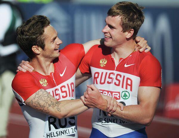 Михаил Идрисов и Павел Караваев