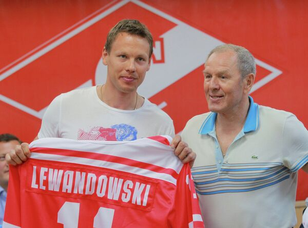 Эдуард Левандовский и Вячеслав Старшинов (слева направо)