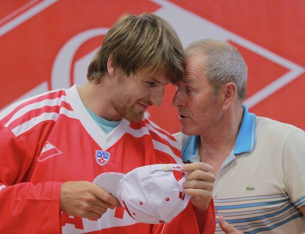 Якуб Накладал и Вячеслав Старшинов (слева направо)