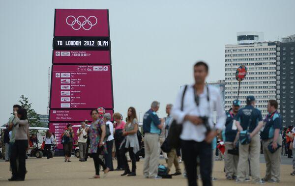 Перед началом открытия Олимпиады - 2012 в Лондоне
