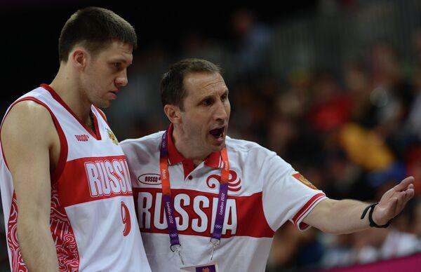 Главный тренер российской сборной по баскетболу Дэвид Блатт