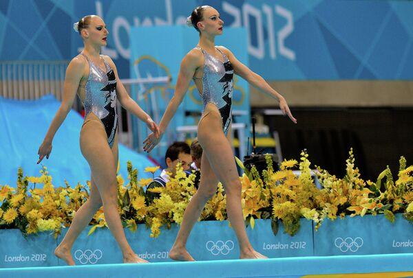 Наталья Ищенко и Светлана Ромашина