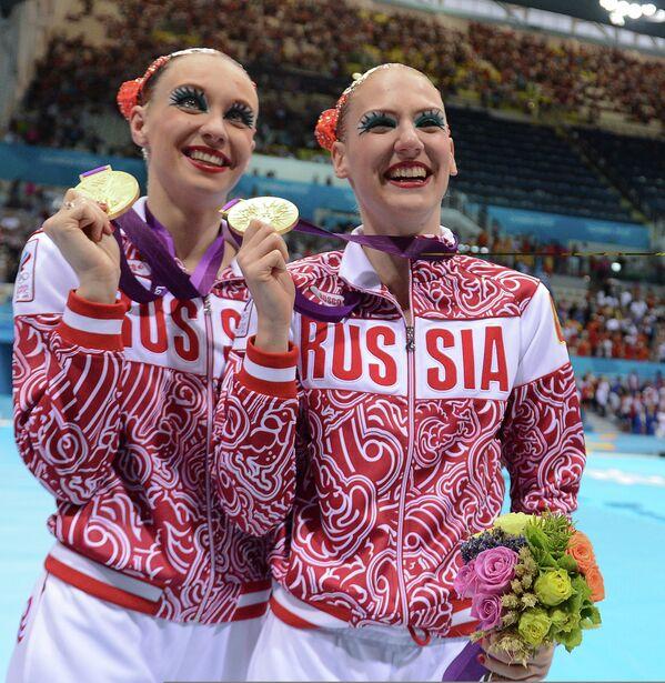 Наталья Ищенко и Светлана Ромашина (слева направо)