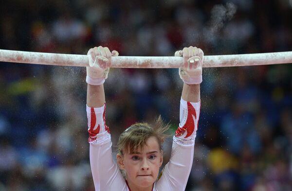 Российская гимнастка Анастасия Гришина