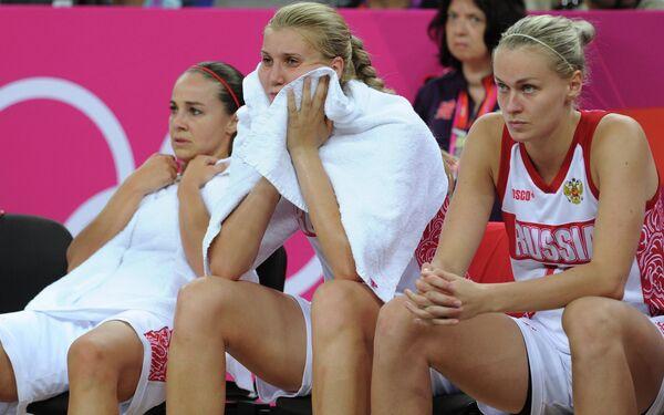 Баскетболистки сборной России