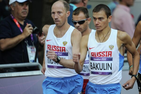 Сергей Кирдяпкин и Сергей Бакулин (слева направо)