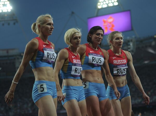 Женская сборная России по бегу 4 х 400 м