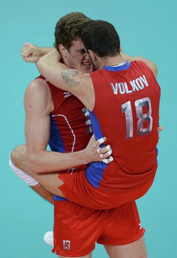 Дмитрий Мусэрский и Александр Волков (слева направо)