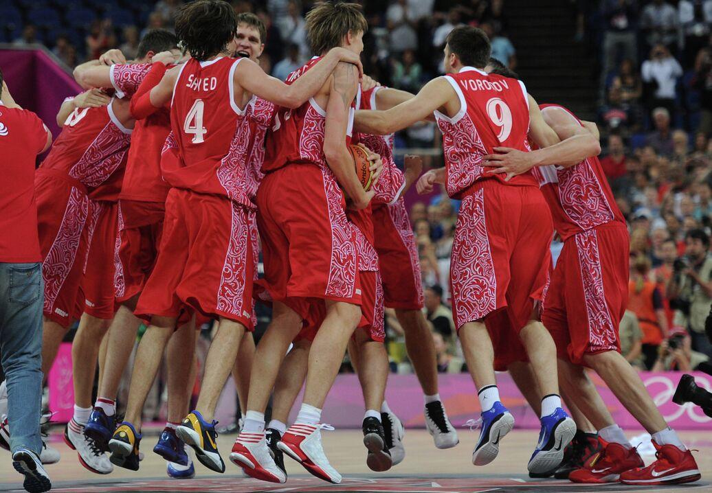 c2ab9bbc Баскетболисты сборной России впервые в истории завоевали медаль ОИ - Спорт  РИА Новости, 12.08.2012