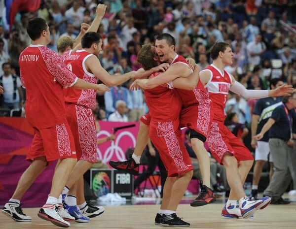 Баскетбол сборной России
