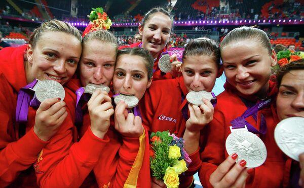 Гандболистки сборной Черногории