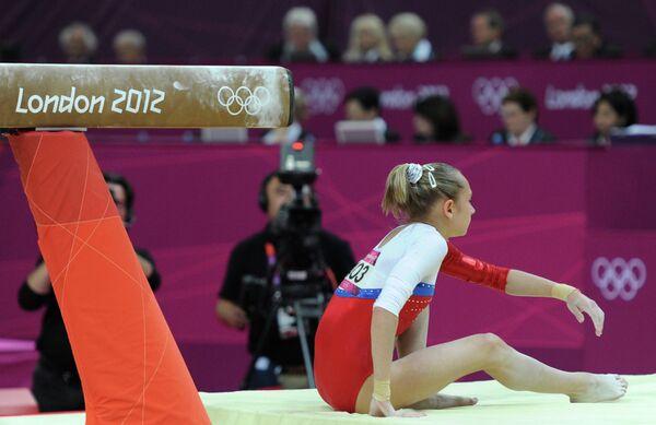 ОИ - 2012. Гимнастика. Женщины. Бревно