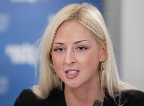 Чемпионка Паралимпийских летних игр 2008 года Олеся Владыкина