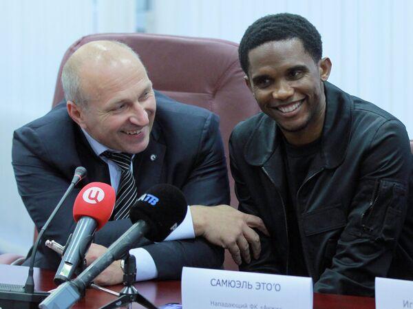 Сергей Чебан (слева) и Самюэль Это'О