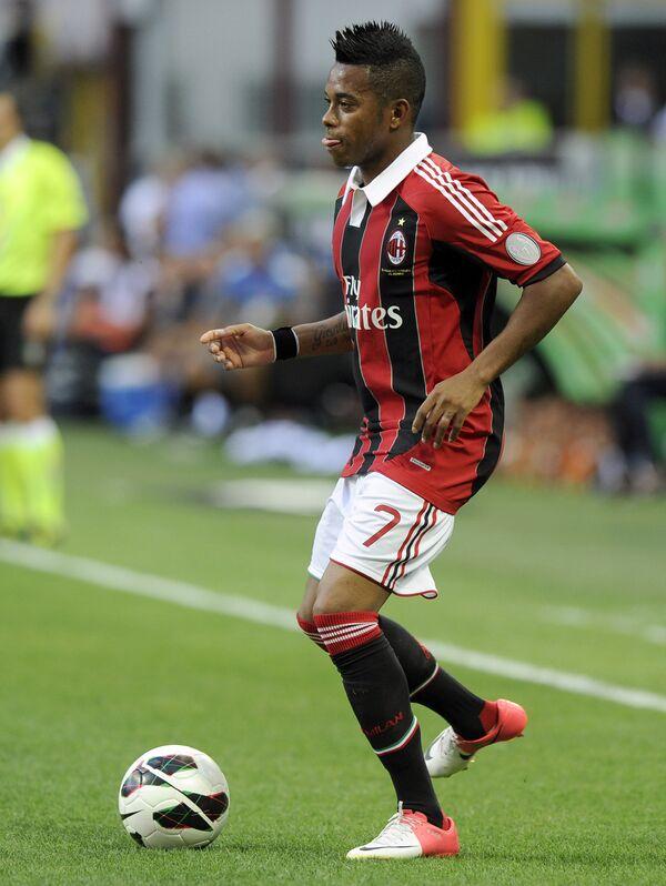 Игрок футбольного клуба Милан Робиньо