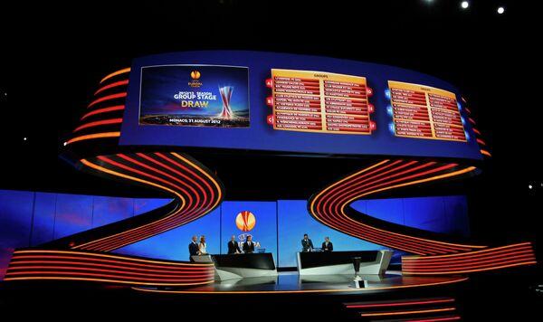 Жеребьевка группового этапа Лиги Европы сезона 2012/2013