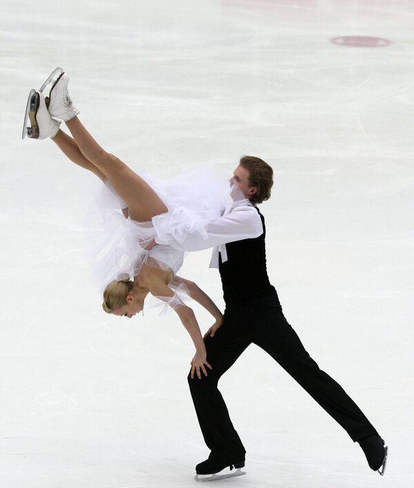 Евгения Косыгина и Николай Морошкин