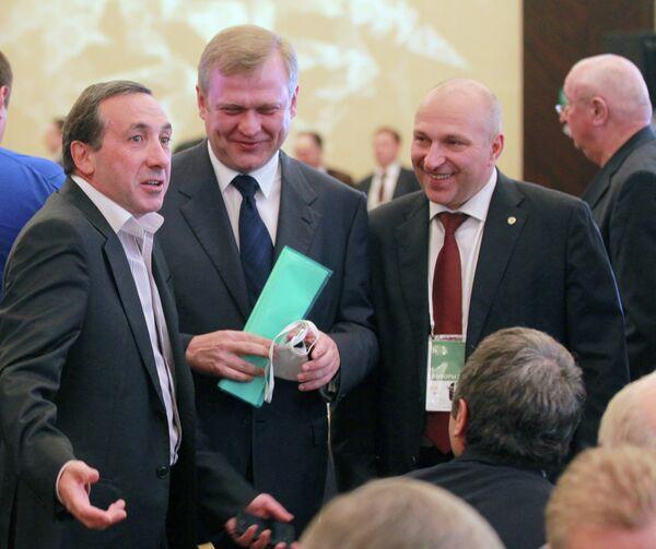 Евгений Гинер, Сергей Капков и Сергей Чабан (слева направо)