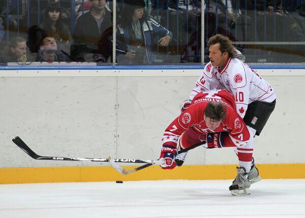 Рон Дюгей и Алексей Касатонов (справа налево)