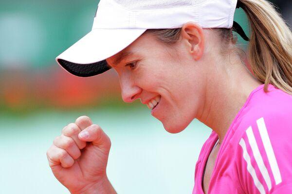 Теннис. Ролан Гаррос-2010. Жюстин Энен (Бельгия) - Мария Шарапова (Россия)