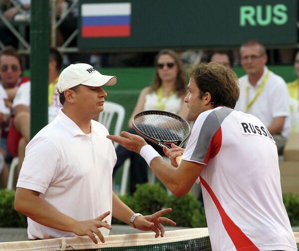 Теймураз Габашвили (справа)