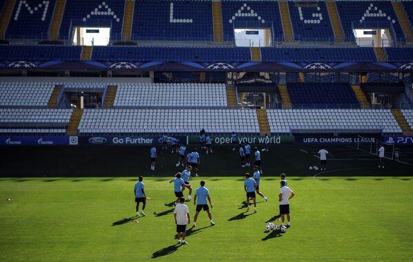 Тренировка ФК Малага