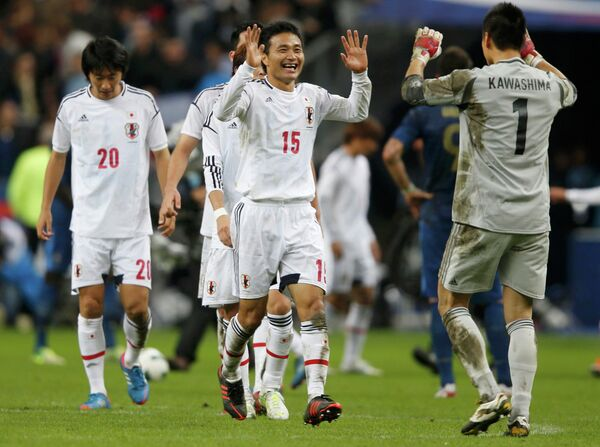 Футболисты сборной Японии