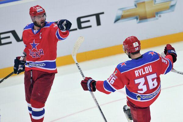 Александр Радулов (слева) и Яков Рылов
