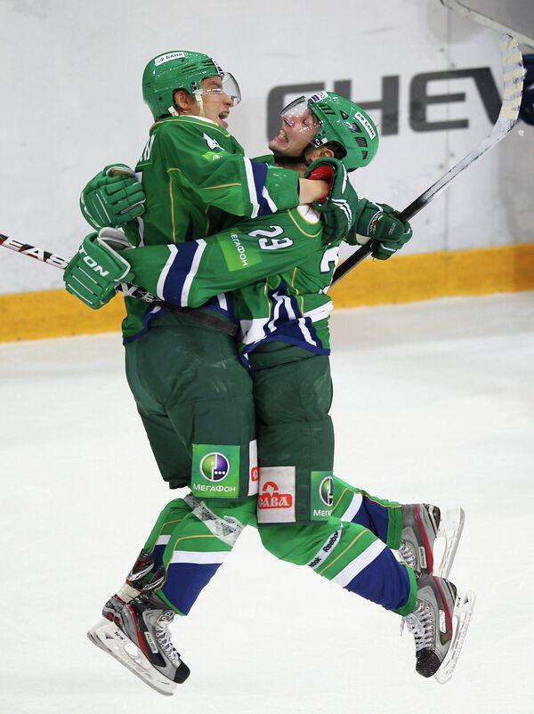 Антти Пильстрем и Денис Хлыстов (слева направо)