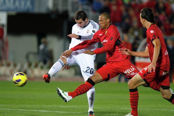 Игровой момент матча Реал - Мальорка