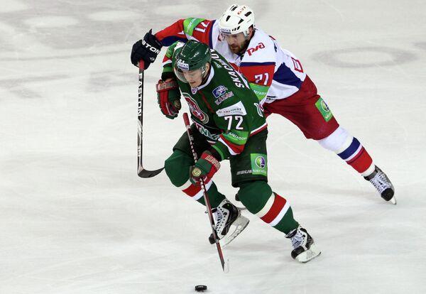 Евгений Скачков (на первом плане) и Алексей Калюжный