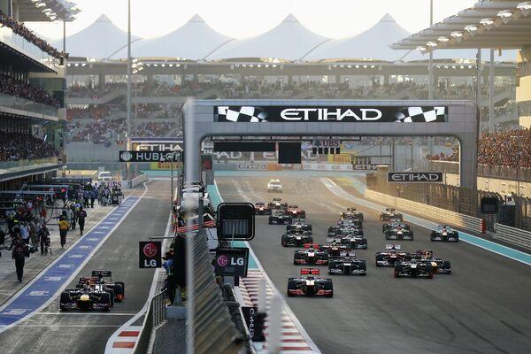 Гонка Гран-при Абу-Даби