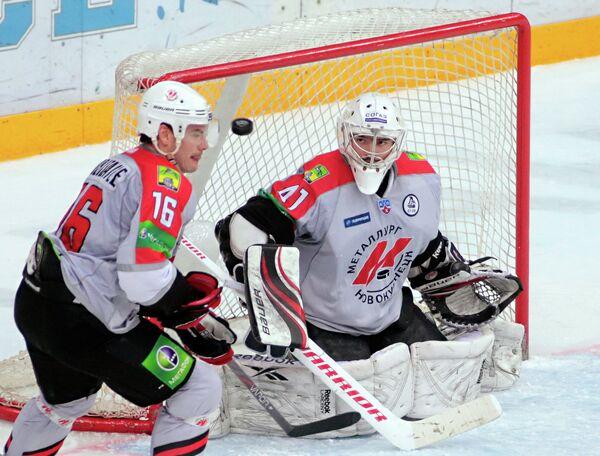 Хоккеисты Новокузнецкого Металлурга