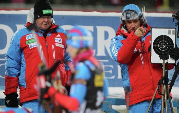 Вольфганг Пихлер и Павел Ростовцев (слева направо).