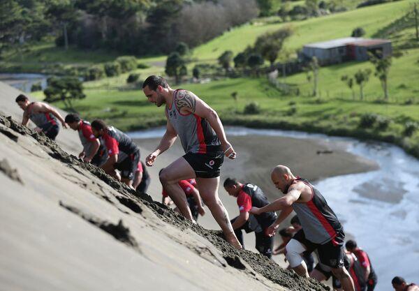 Новозеландские регбисты