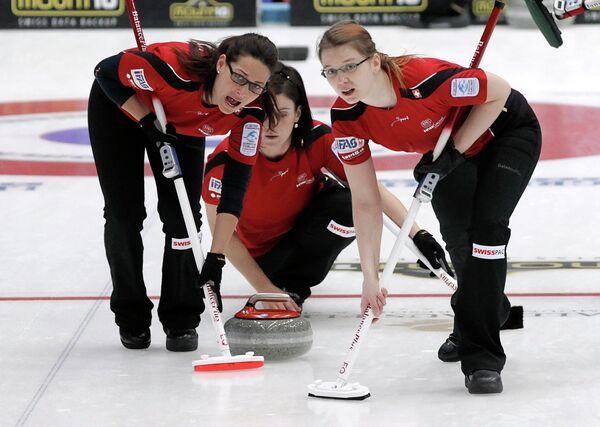 Женская сборная Швейцарии по керлингу
