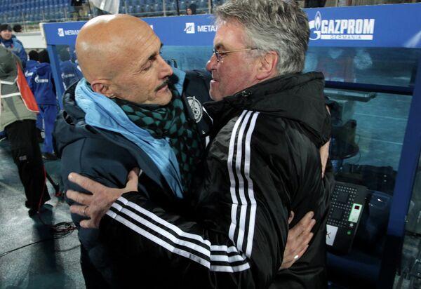 Лучано Спалетти (слева) и Гус Хиддинк
