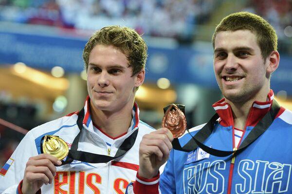 Владимир Морозов и Евгений Лагунов (слева направо)