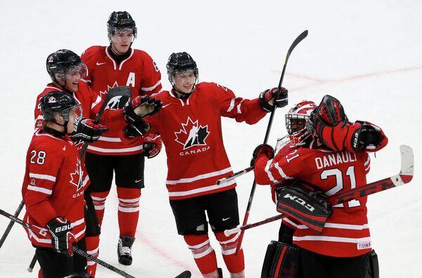 Игроки молодежной сборной канады по хоккею